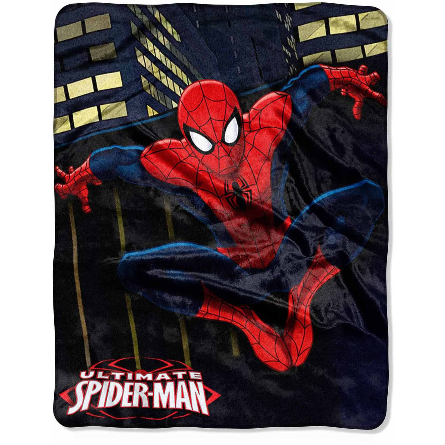 "Marvel Spider-Man ""City Leap"" 40"" x 50"" Silk Touch Throw"