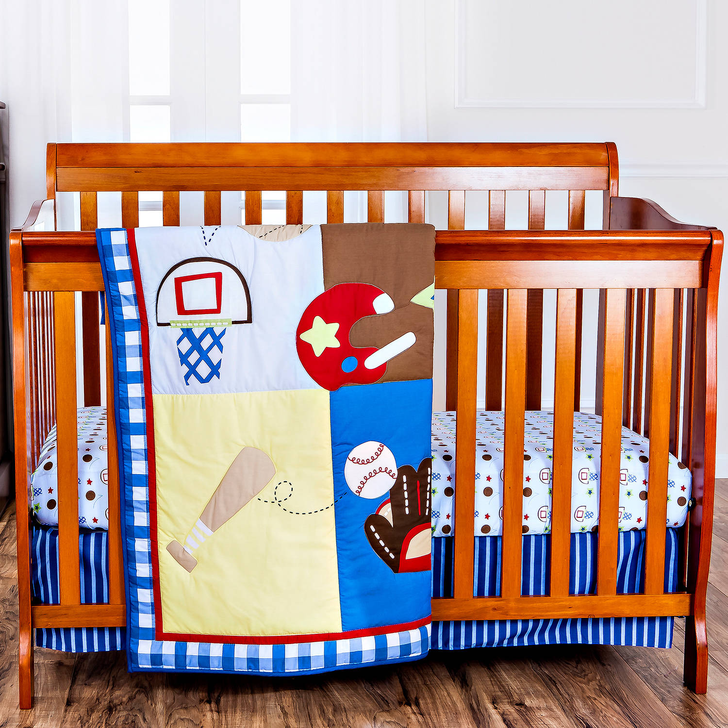 Dream On Me All-Star Athlete 2-Piece Crib Bedding Set