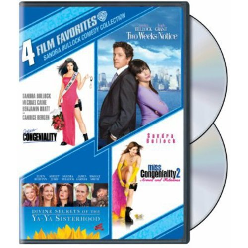 Sandra Bullock Comedy Collection: Miss Congeniality / Miss Congeniality 2 / Two Weeks Notice / Divine Secrets Of The Ya-Ya Sisterhood (Widescreen)