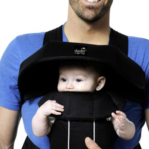 Shaidee Sun Cover for Baby Carriers - Black