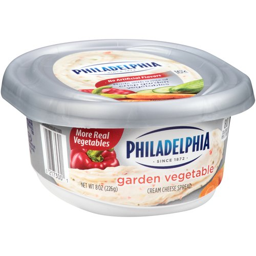 Philadelphia Garden Vegetable Cream Cheese Spread, 8 oz
