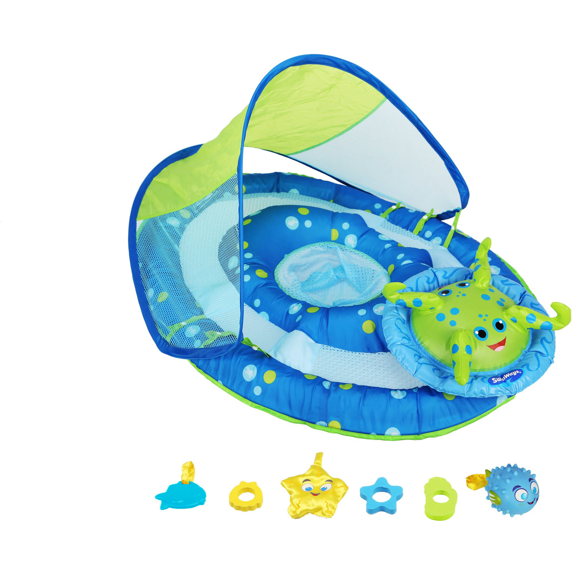 SwimWays Baby Spring Float Activty Canopy