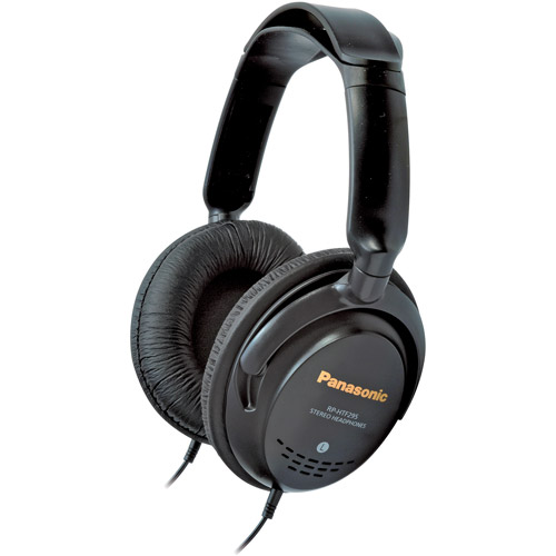 Panasonic Headphone Monitor, Black