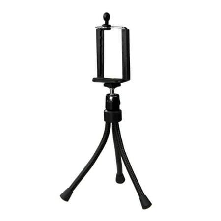 Insten Black Mini Tripod Monopod Stand For iPhone 6S Plus 6 6+ 5S 5 Samsung Galaxy S6 S5 S4 Edge Note 5 4 Android Camera