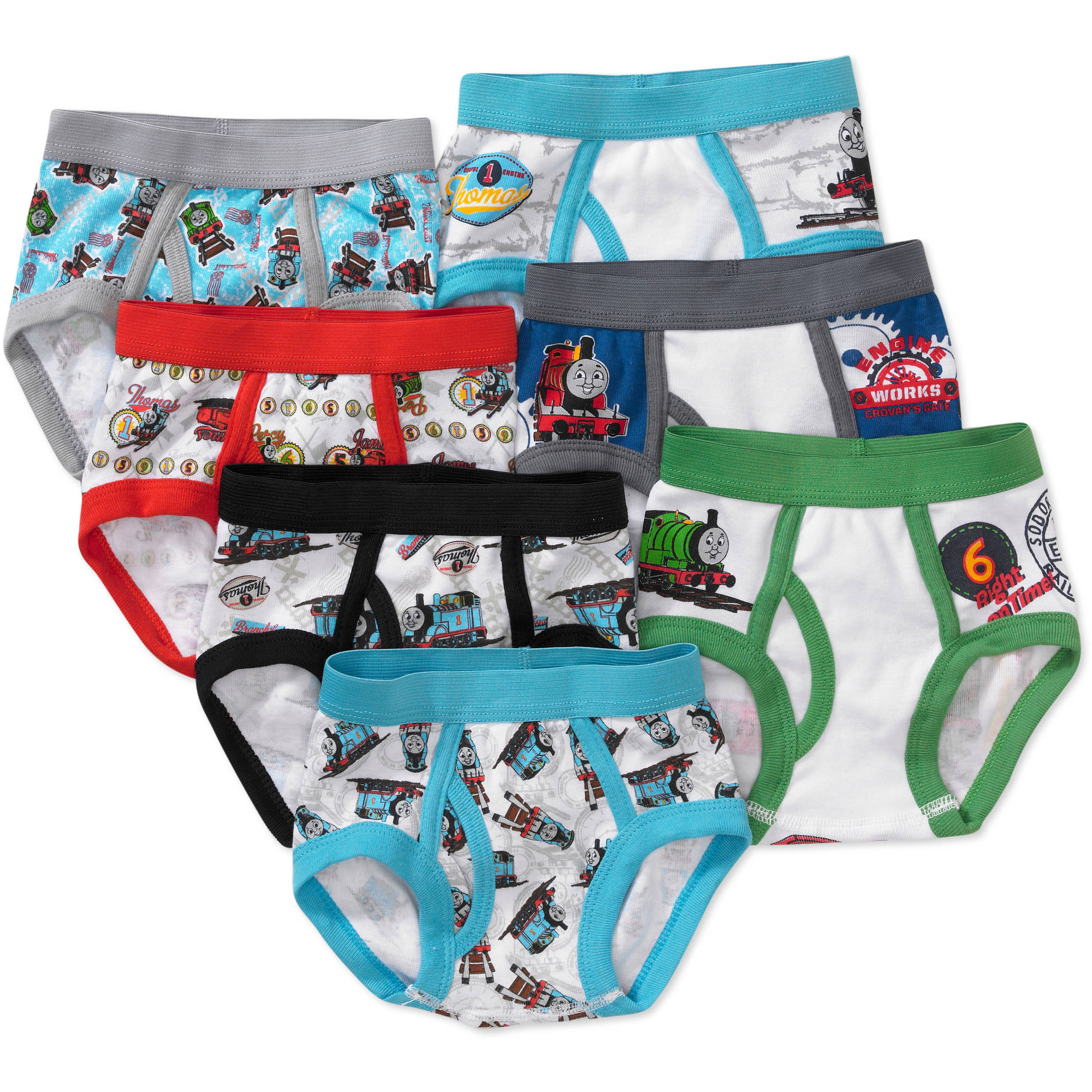 Toddler Boys' Thomas Underwear, 7-Pack