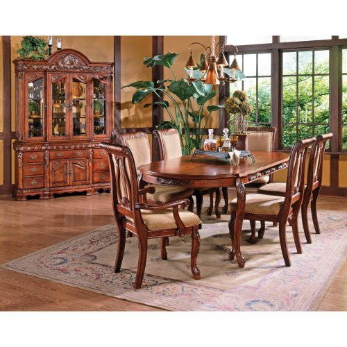 Steve Silver 7 Piece Harmony Dining Table Set - Cherry