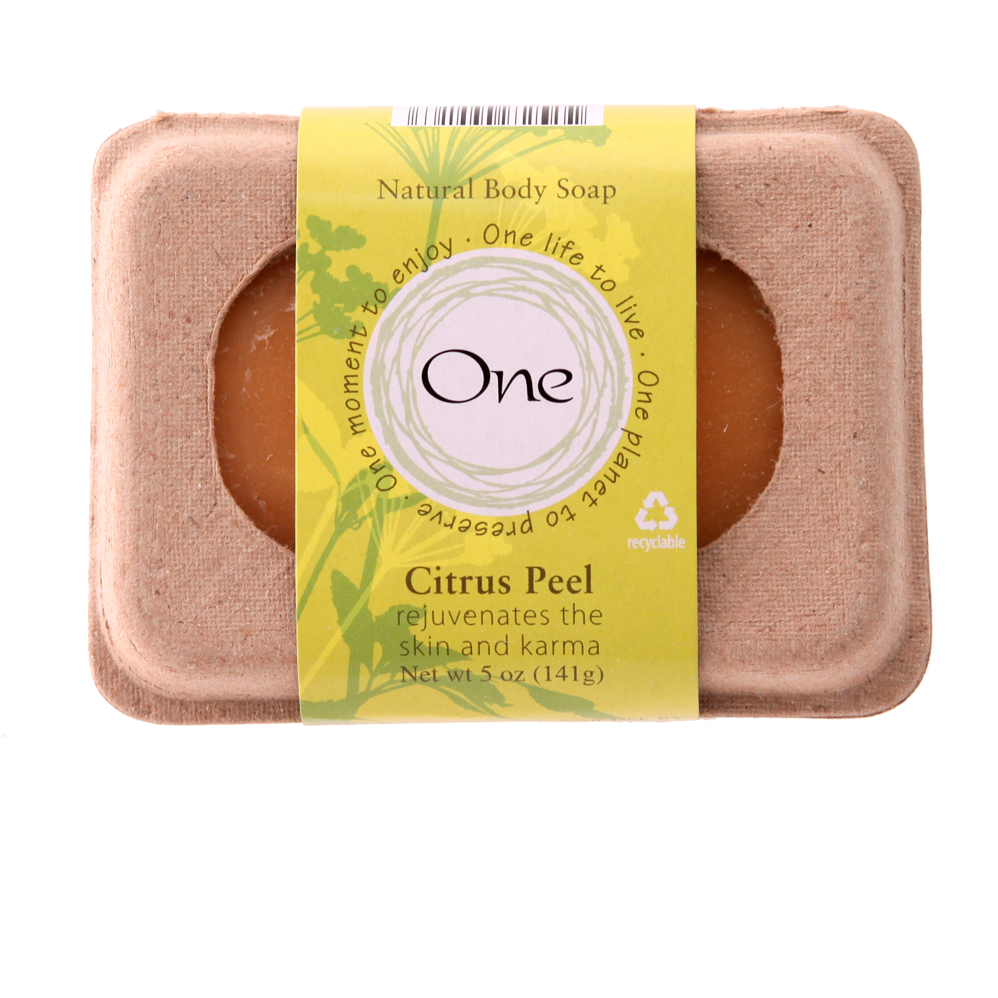 One Bar Soap, Citrus Peel, 1ct