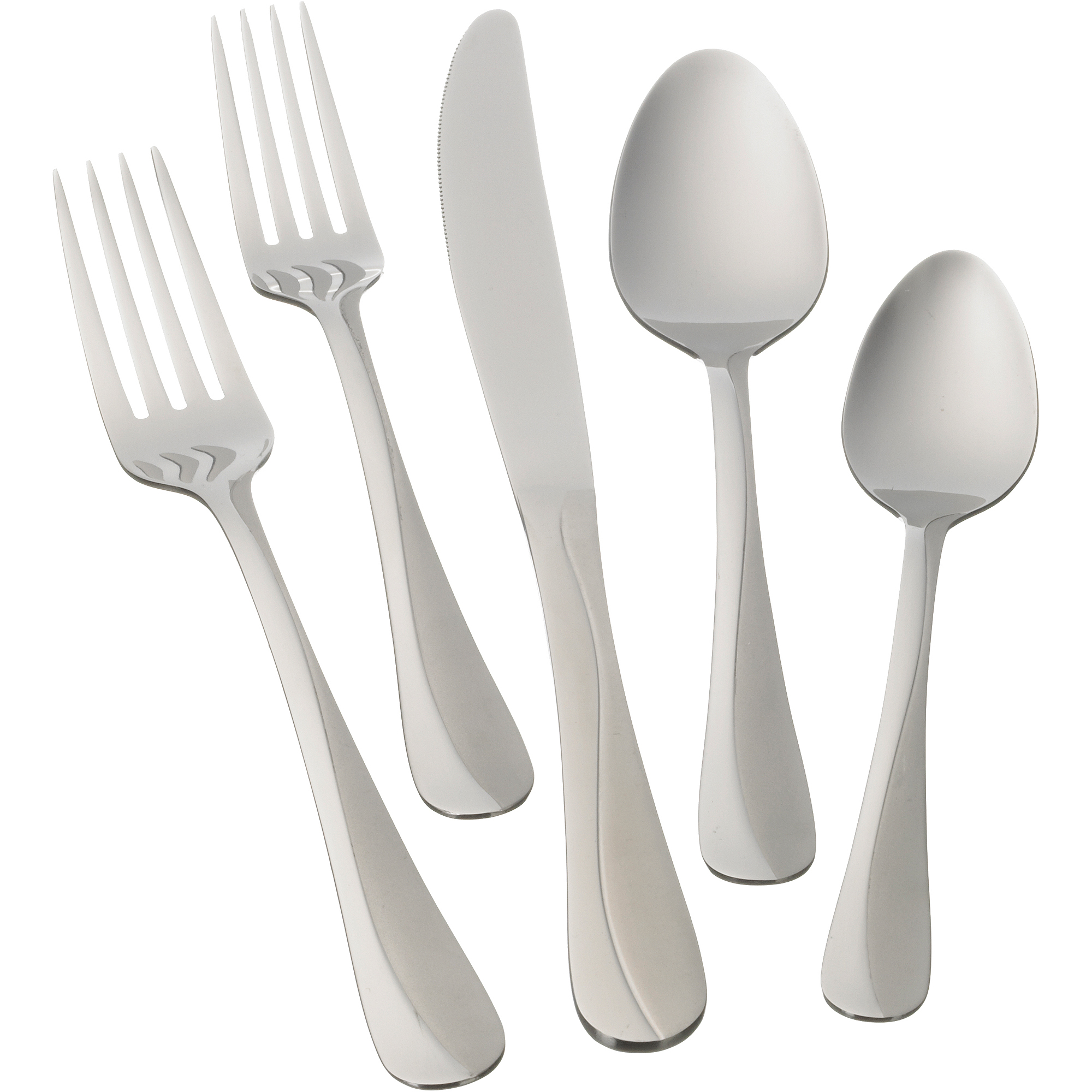 Mainstays Whitney 20-Piece Flatware Set