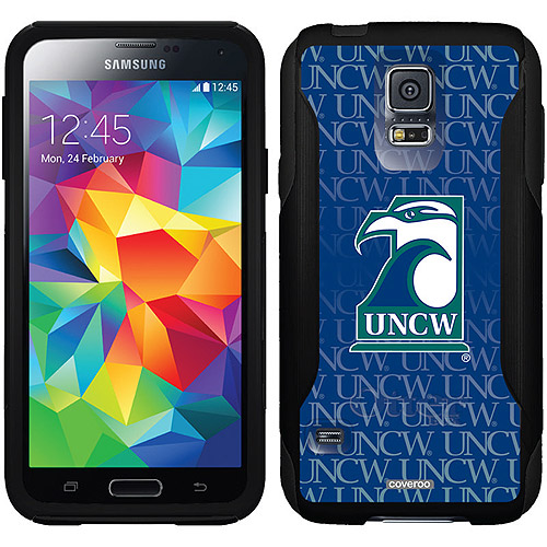 UNCW Repeating Design on OtterBox Commuter Series Case for Samsung Galaxy S5