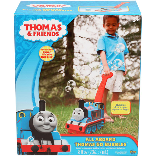 Thomas & Friends All Aboard Thomas Go Bubbles