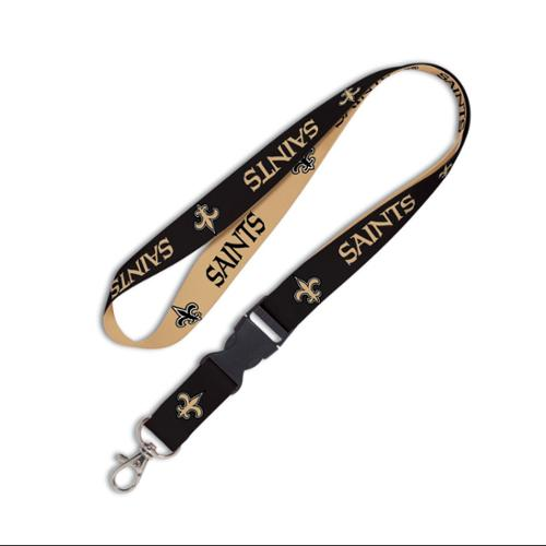 New Orleans Saints Official NFL 20 inch  Lanyard Key Chain Keychain by Wincraft