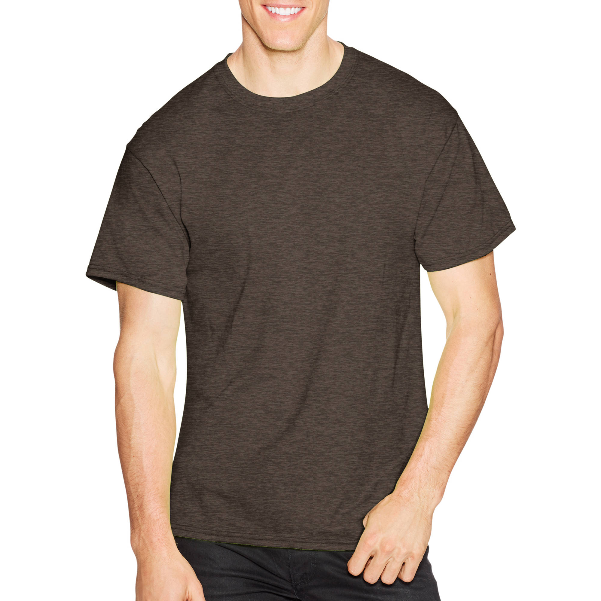 Hanes Big Men's Short Sleeve EcoSmart T-shirt