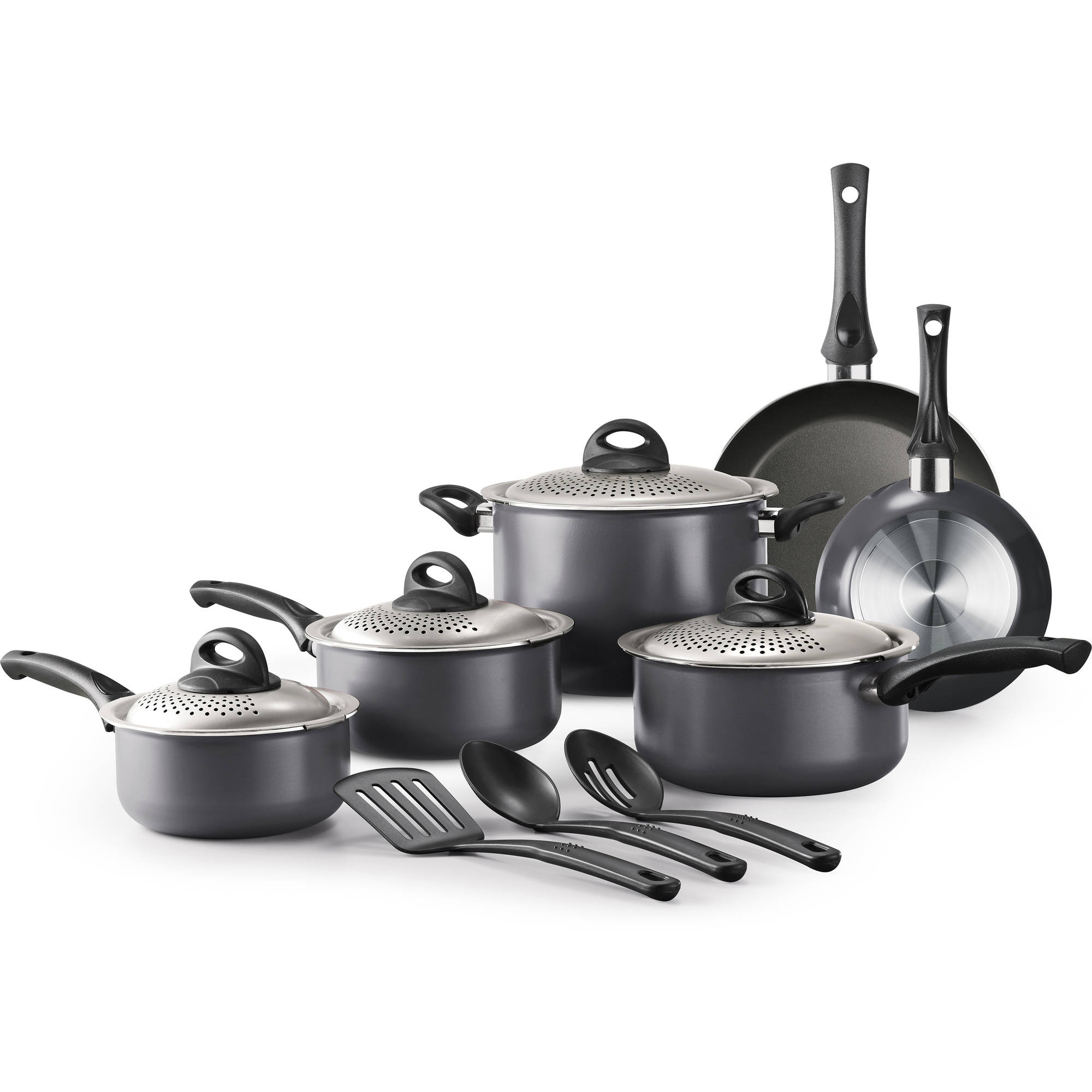 Tramontina 13-Piece Lock & Drain Non-Stick Cookware Set