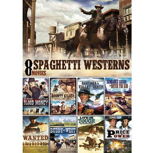 8 Movie Spaghetti Western Pack
