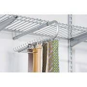 Rubbermaid Configurations 30-Hook Tie and Belt Organizer, Titanium