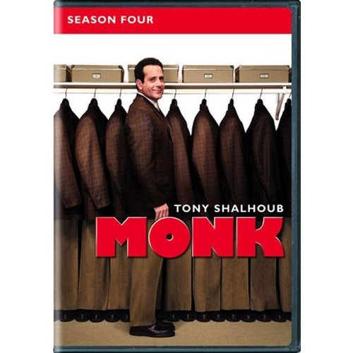Monk: Season Four (Anamorphic Widescreen)