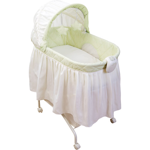 Kolcraft - Tender Vibes Travel Bassinet with Music