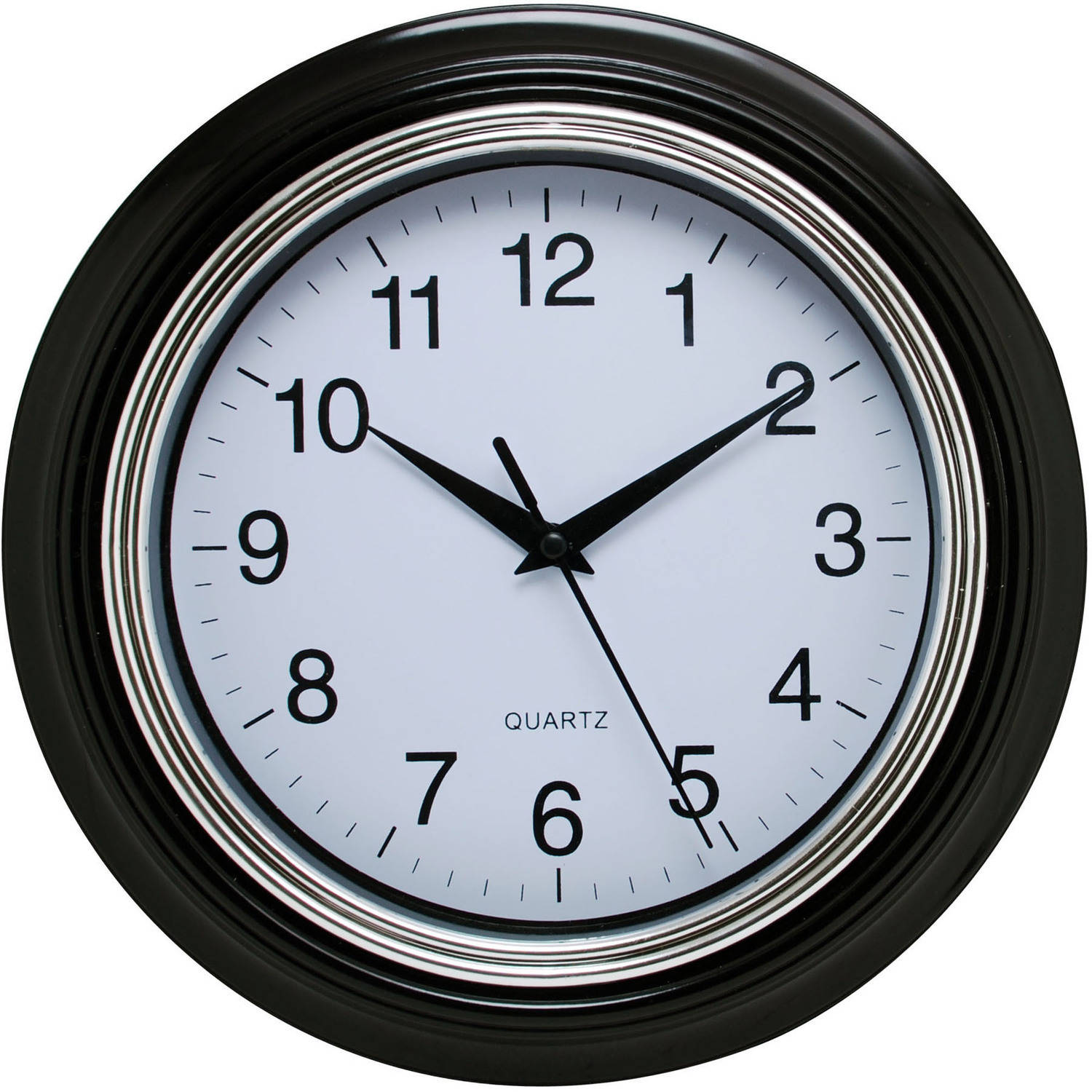 "Aster 10"" Round Wall Clock"