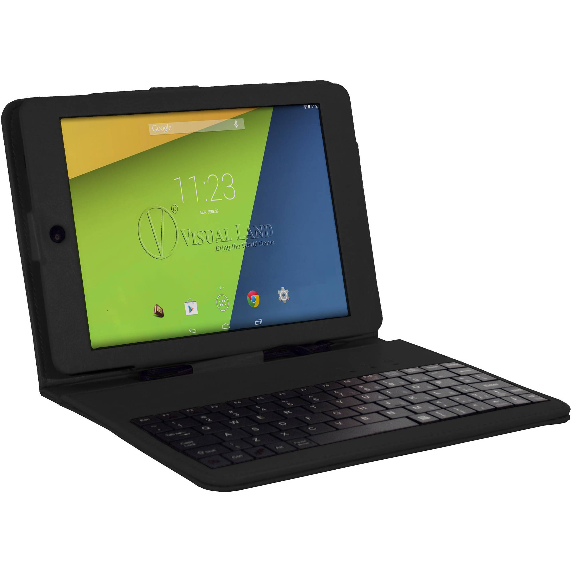"Visual Land Prestige Elite 8Q with WiFi 8"" Touchscreen Tablet PC Featuring Android 4.4 (KitKat) Operating System"