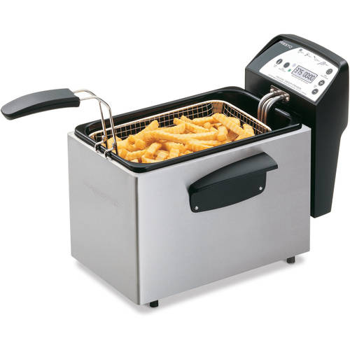 Presto Digital ProFry 9-Cup Immersion Deep Fryer