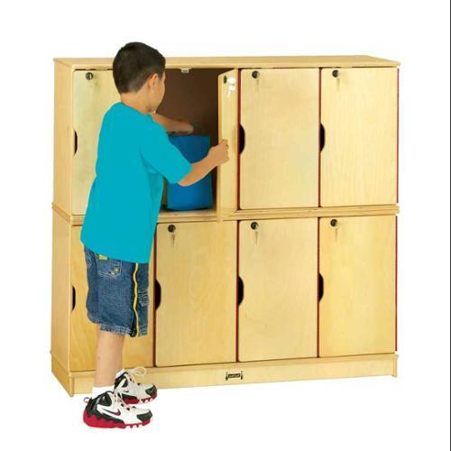 Jonti Craft Double Stack 8 Locker Set w Keys