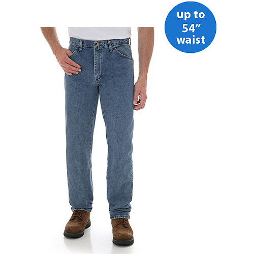 Rustler - Big Men's Regular Fit Straight-Leg Jeans
