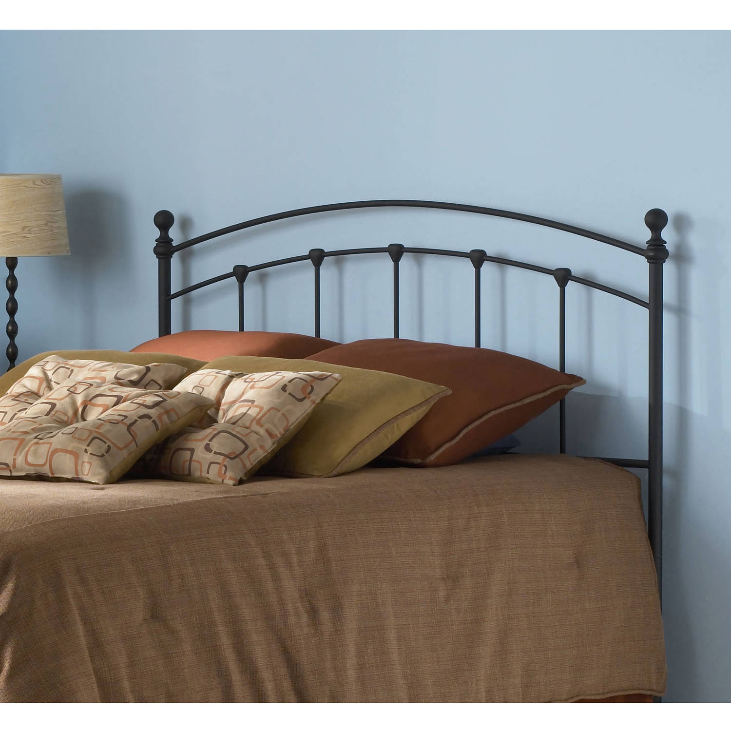 Fashion Bed Group by Leggett & Platt Sanford Matte Black Headboard, Multiple Sizes