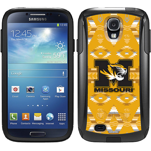 University of Missouri Tribal Design on OtterBox Commuter Series Case for Samsung Galaxy S4