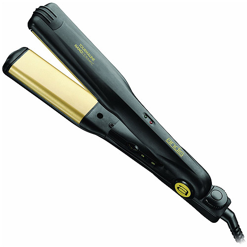 "Andis Curved Edge Professional Heat 1.5"" Ceramic Flat Iron"
