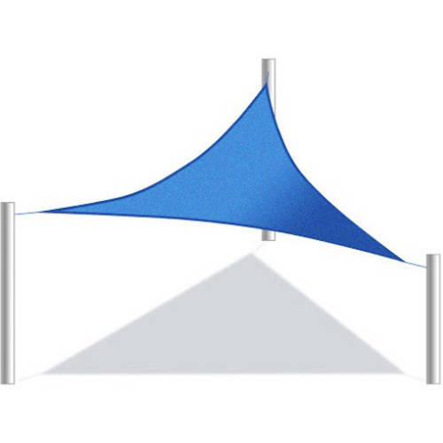 Aleko Triangular Waterproof Sun Shade Sail Canopy Tent Replacement, Choose Your Size And Color