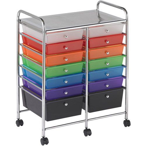 14-Drawer Mobile Organizer