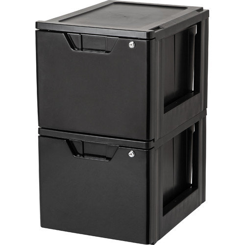 IRIS Premier Stacking File Storage Drawer with Lock