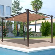 Outsunny 10 x 13 ft. Aluminum Patio Pergola