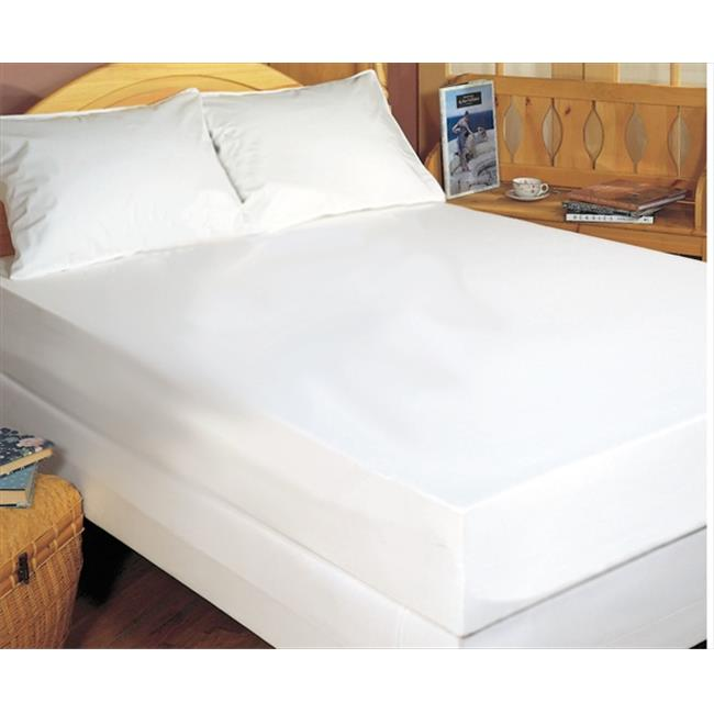 Bargoose Home Textiles 537880Z Allergy Care 100% Cotton Zippered Mattress Cover - King