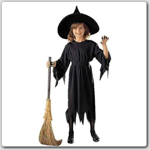 RG Costumes 19123-L Witch Girl Costume - No Hat - Size Child-Large