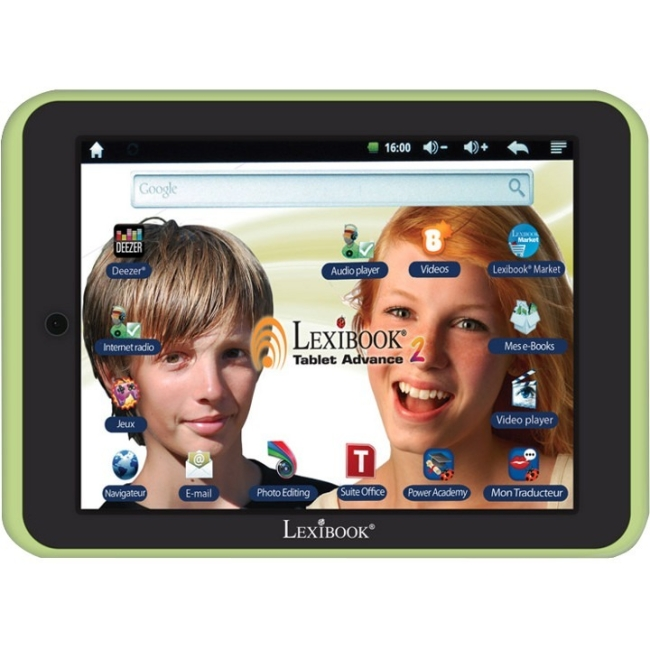 Lexibook Tablet Advance 2 Kids Android 4.1 Tablet - Green