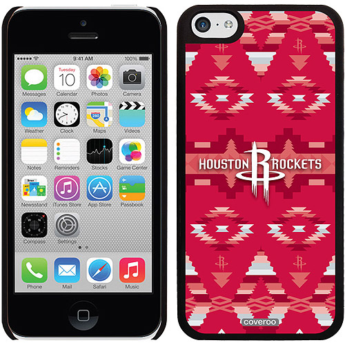 Houston Rockets Tribal Print Design on Apple iPhone 5c Thinshield Snap-On Case by Coveroo