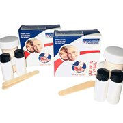Perma Soft Denture Reliner -4 Kits (2 boxes, which 2 kits in each box)