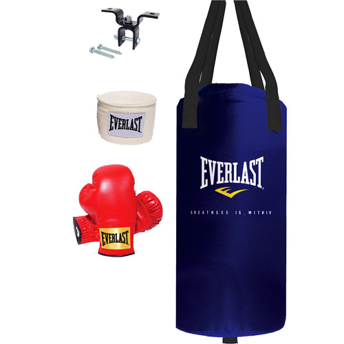 Everlast Youth Heavy Bag Kit, 25 lbs