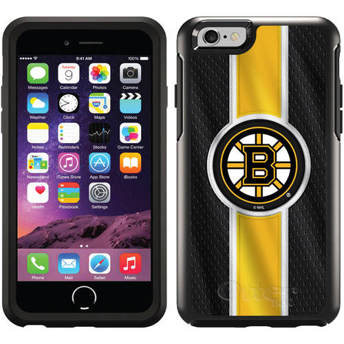 Boston Bruins Jersey Stripe Design on OtterBox Symmetry Series Case for Apple iPhone 6