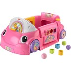 Fisher-Price Laugh & Learn Smart Stages Crawl Around Car, Pink