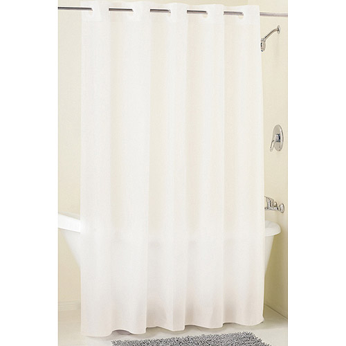Mainstays Hookless Frosty PEVA Shower Curtain Liner