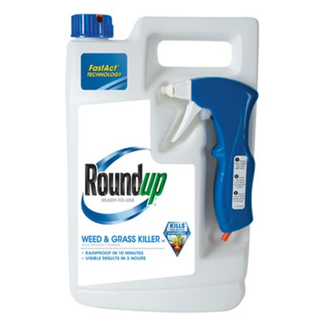 Roundup Ready-To-Use Weed & Grass Killer III, 1 gal