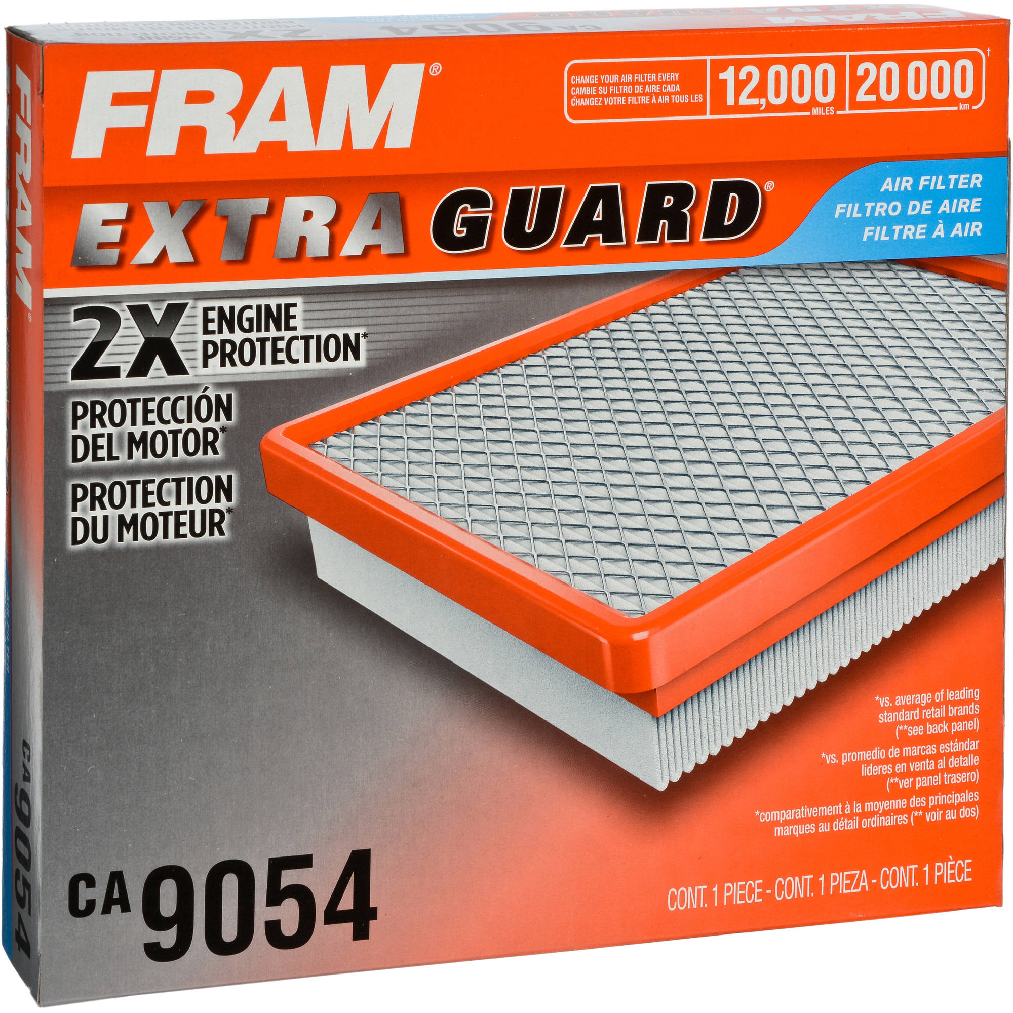 FRAM Extra Guard Air Filter, CA9054