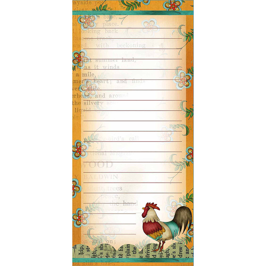 Lang Kitchen Whimsy Mini List Pad
