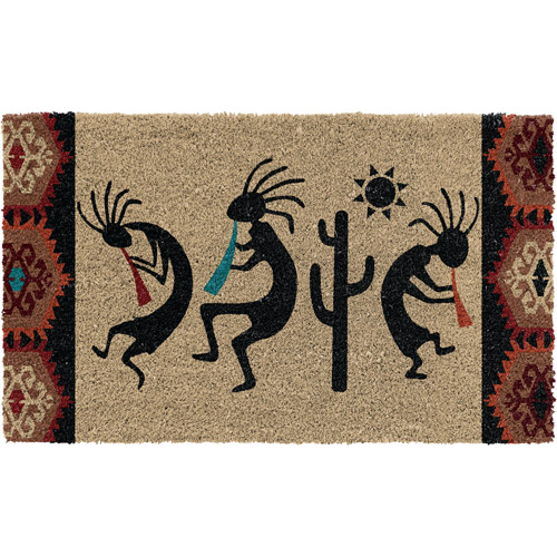"Better Homes and Gardens 30"" x 18"" Kokopelli Coco Mat"