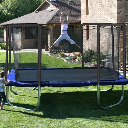 Skywalker 15-ft. Square Trampoline and Enclosure Combo