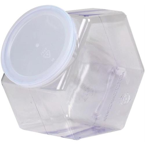 Clearsnap 10058 Basic Necessities Plastic Jar With Lid