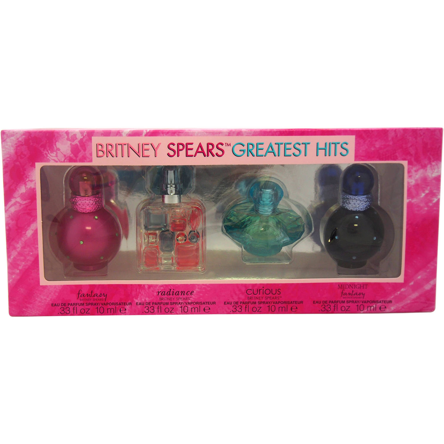 Britney Spears Greatest Hits by Britney Spears for Women Mini Gift Set, 4 pc