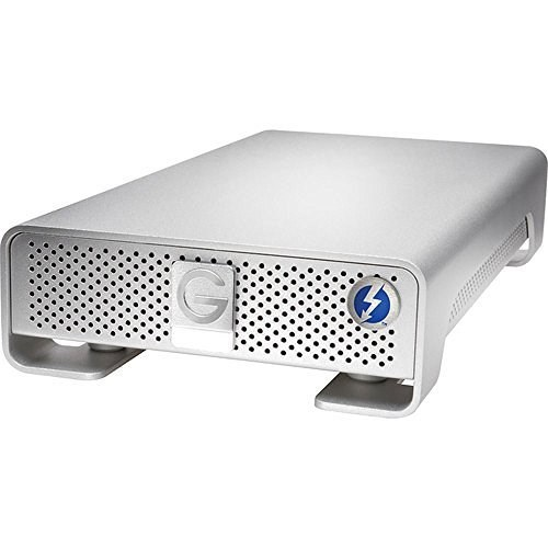 G-Technology G-DRIVE Thunderbolt & USB 3.0 Desktop Hard Drive 6TB (0G04023)